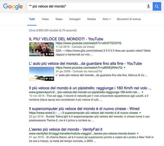 Come usare Google - Es.2